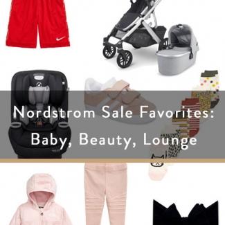 Nordstrom Sale Favorites: Baby, Beauty, Lounge