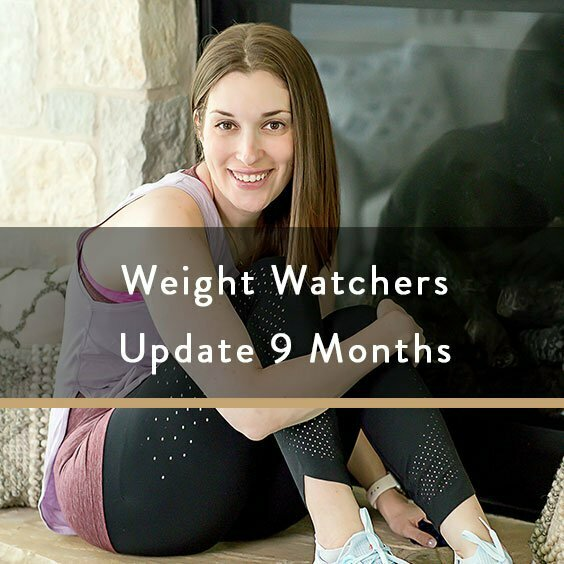 Weight Watchers Update 9 Months