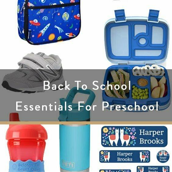 Back To School Essentials For Preschool