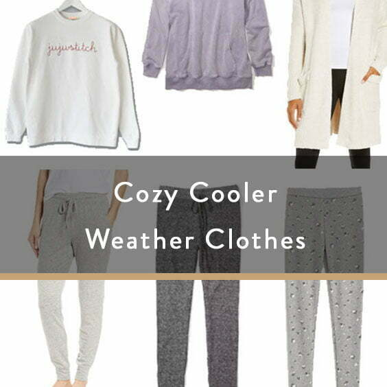 Cozy Cooler Weather Clothes