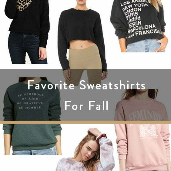 Favorite Sweatshirts For Fall