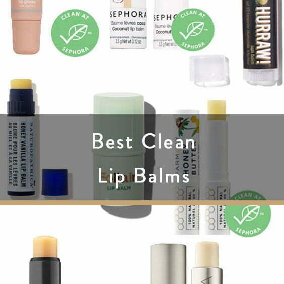 Best Clean Lip Balms