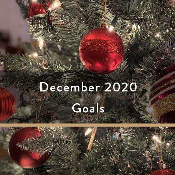 December 2020 Goals