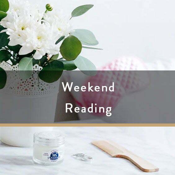 Weekend Reading Vol. 95
