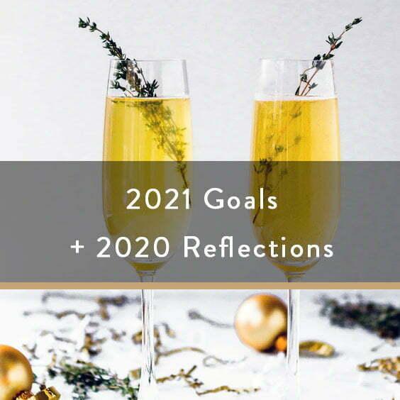 2021 Goals + 2020 Reflections