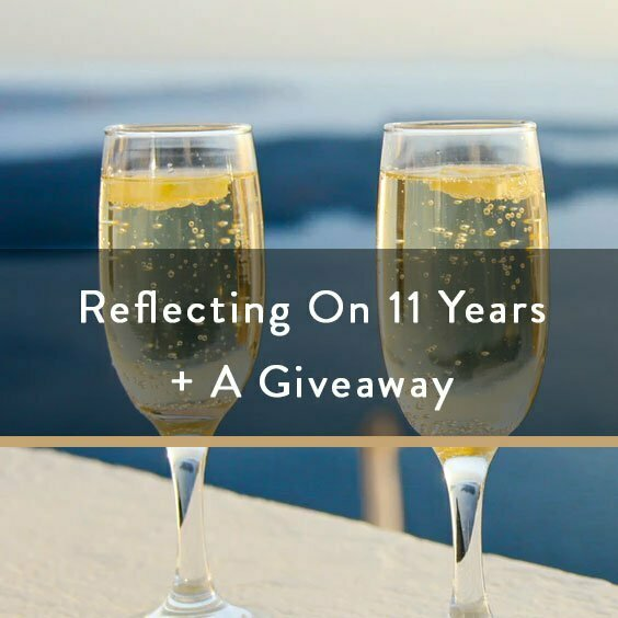 Reflecting On 11 Years + A Giveaway