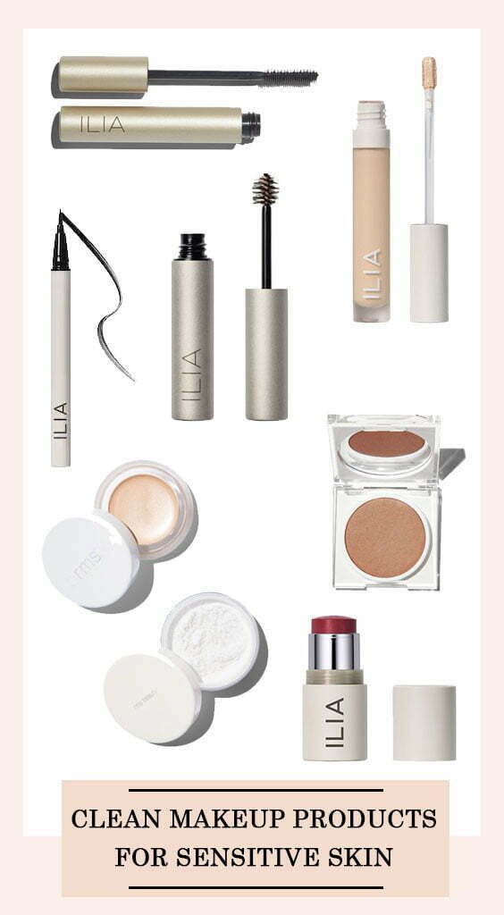 Clean Makeup Products For Sensitive
