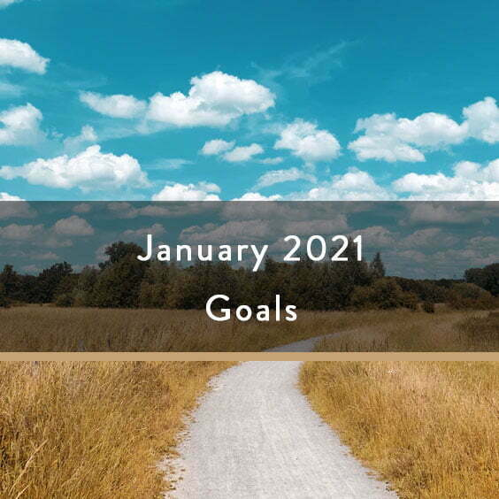 January 2021 Goals