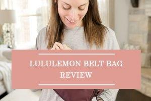 Lululemon Belt Bag Review
