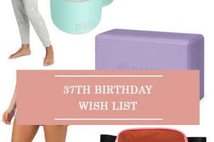 37th Birthday Wish List
