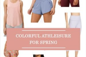 Colorful Athleisure For Spring