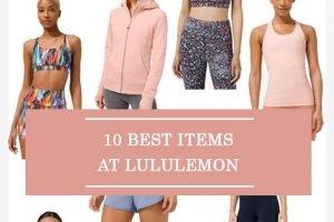 10 Best Items At Lululemon