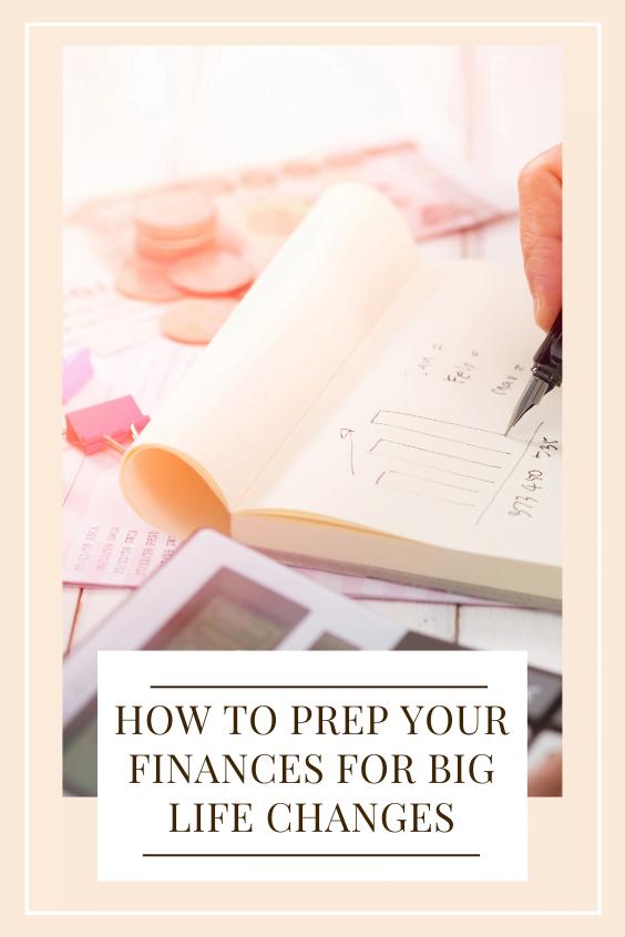 prep your finances