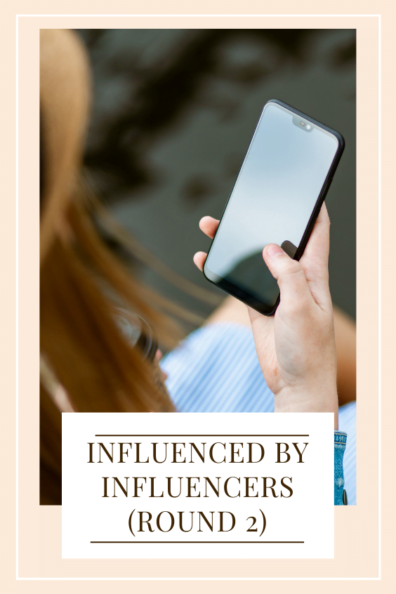 influenced by influencers