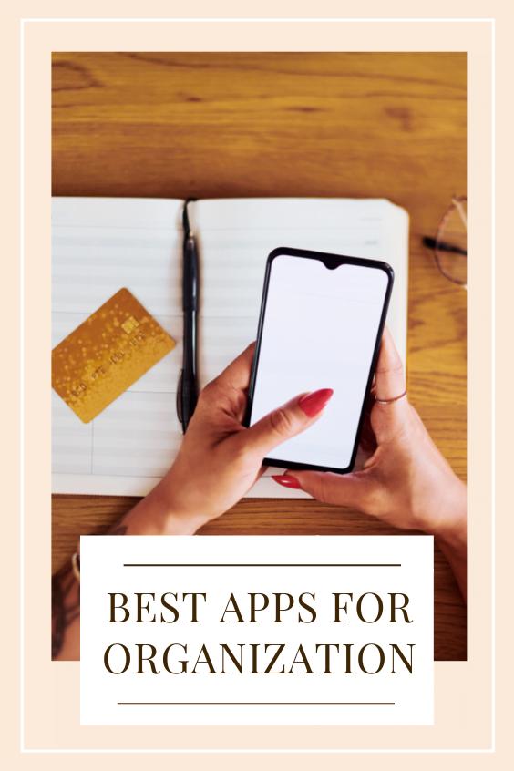 best apps for organization