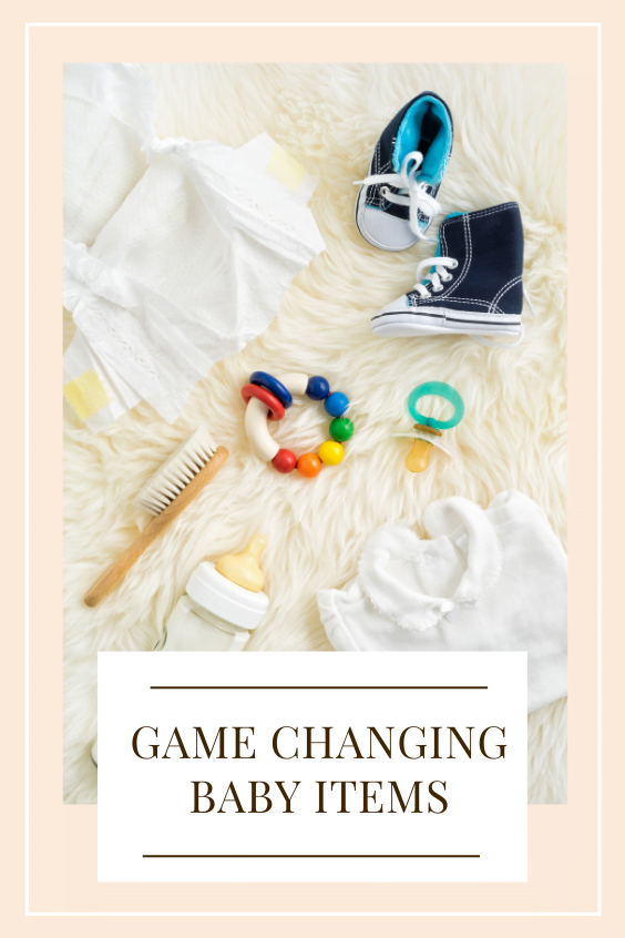 game changing baby items