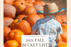 Fall 2021 Bucket List